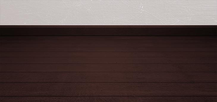 暗い茶色の床