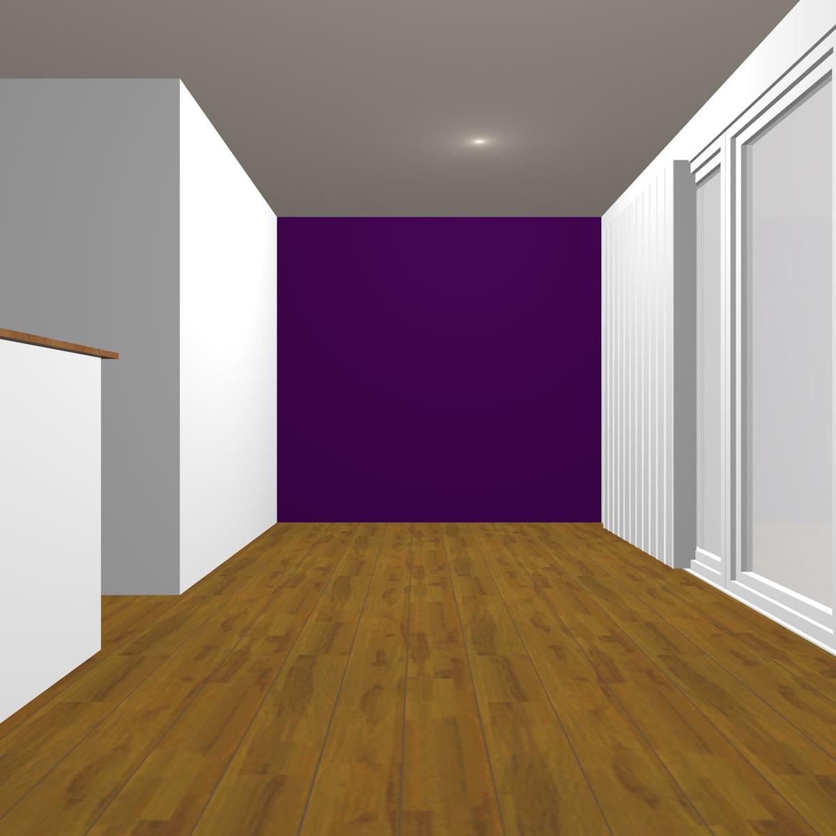 ダークトーンの紫の壁紙クロス