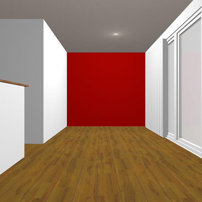 ダークトーンの赤の壁紙クロス