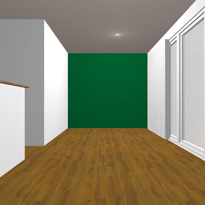 ダークトーンの緑の壁紙クロス