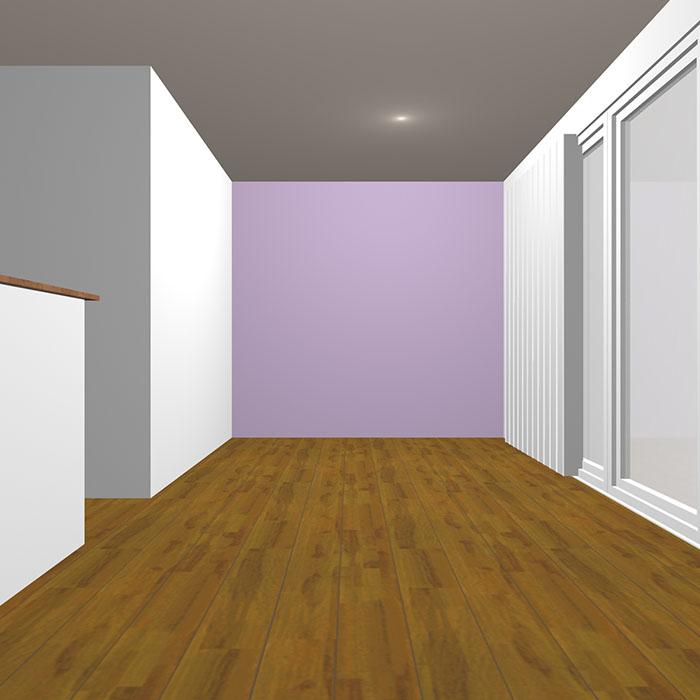 ライトグレイッシュトーンの紫の壁紙クロス