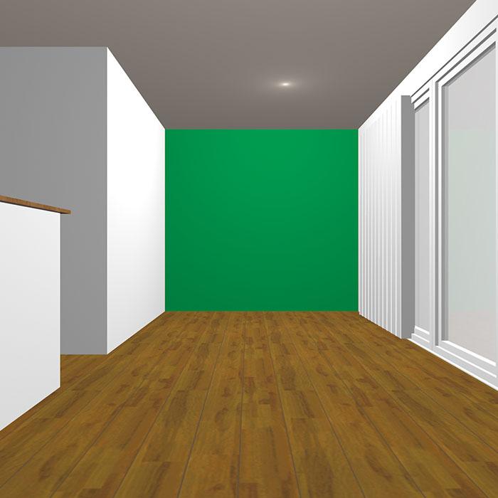 ヴィヴィッドトーンの緑の壁紙クロス