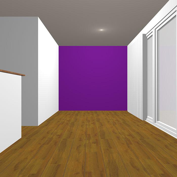 ヴィヴィッドトーンの紫の壁紙クロス