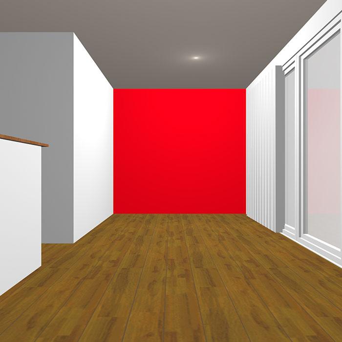 ヴィヴィッドトーンの赤の壁紙クロス