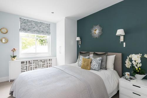 プロ推奨!寝室に使いたいアクセントクロスおすすめ6色&32実例 ...