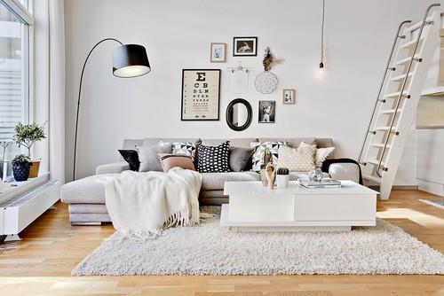 グレーのソファを更におしゃれに+2色のテクニック&厳選37例