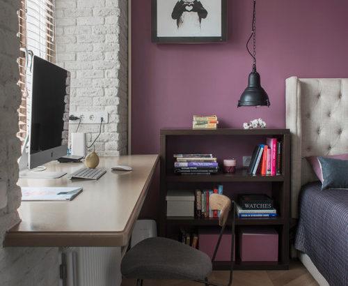 センスを引き出す鉄板色-紫のアクセントクロス厳選30例
