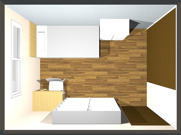 6畳の子供部屋のレイアウト例