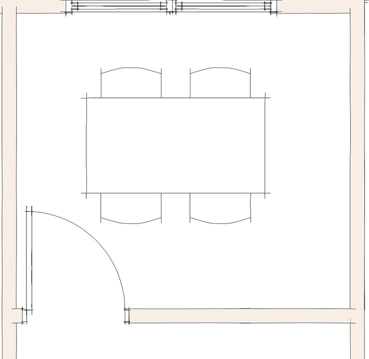 ドア(開口)と家具の関係②