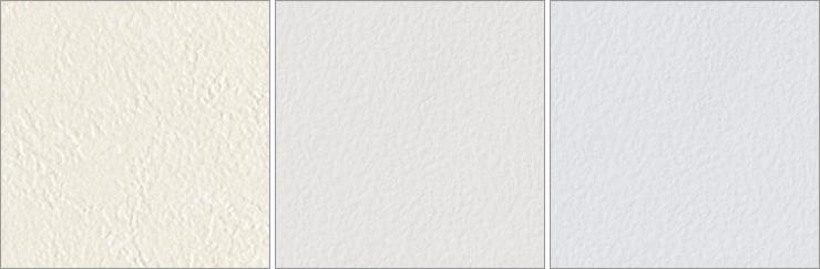 3種類の白っぽい色