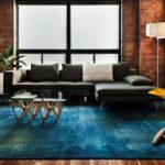 ミディアムブラウンの床のラグ4種類の色別コーディネート厳選50例