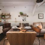 木目キッチンと家具色の組み合わせダイニングキッチン実例41選