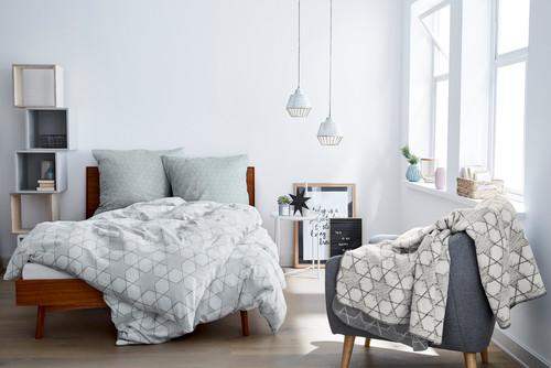 床の色6種類×ベッドの色6パターン寝室おしゃれコーデ91実例