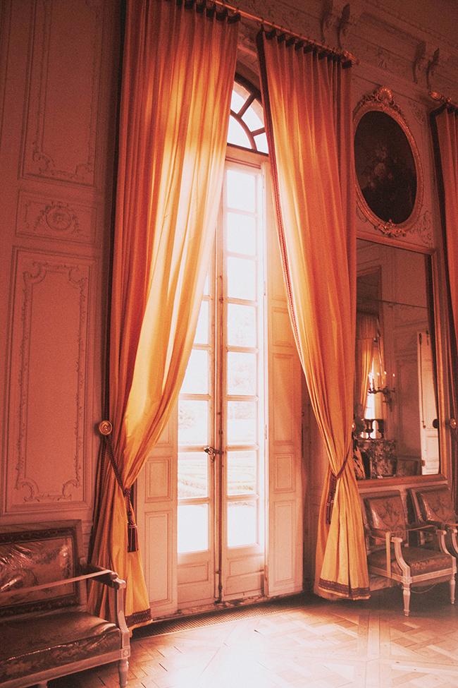 ベルサイユ宮殿のパーケットフローリング