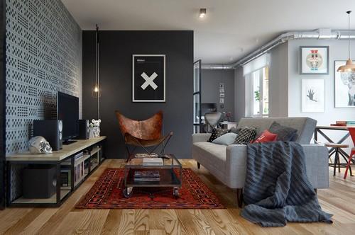 壁色をメインに考えた床色別お洒落モノトーンインテリア実例50選