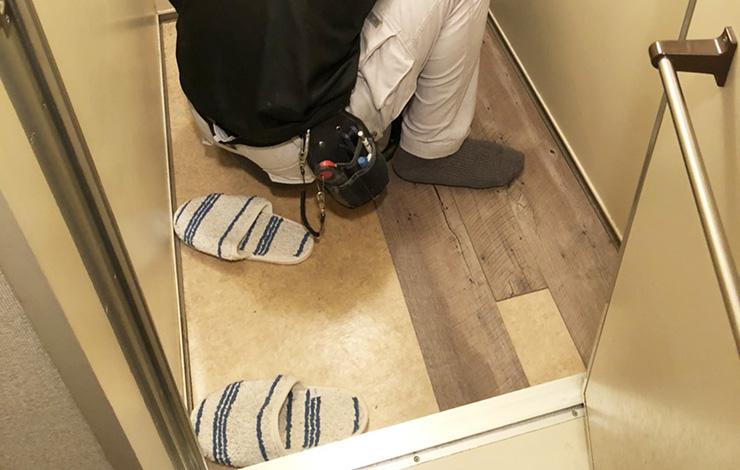床材の割り付け