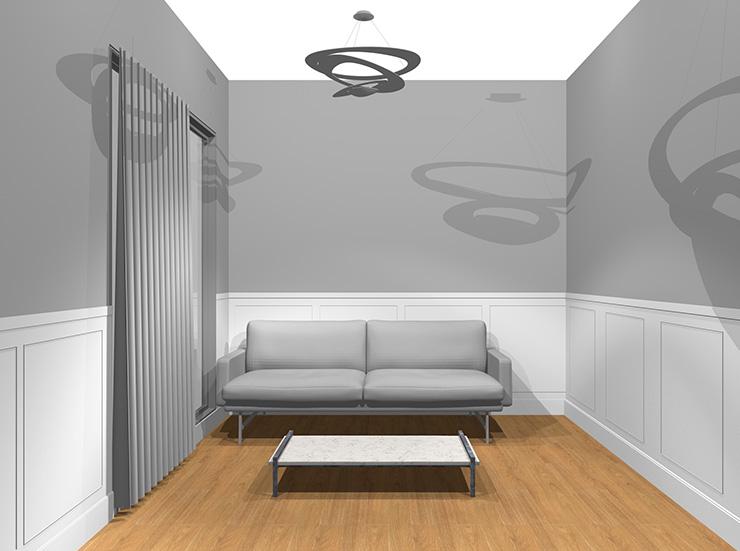 モダンな家具をコーディネート