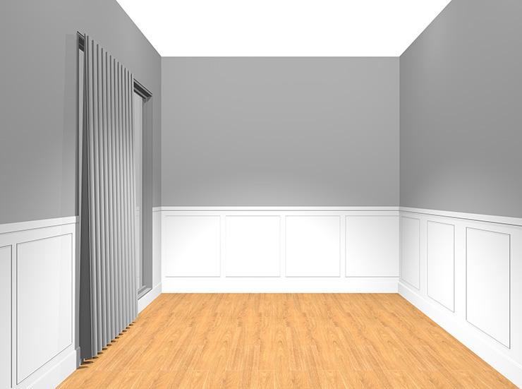 クラシカルな内装の部屋