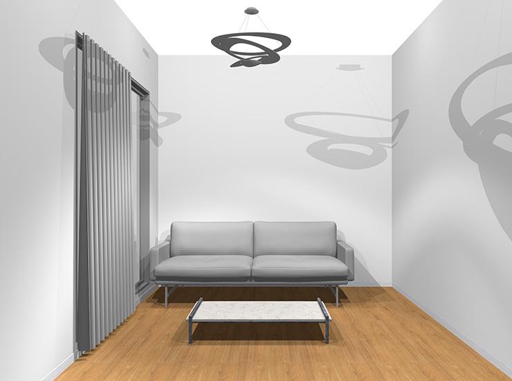 モダンな内装とモダンな家具
