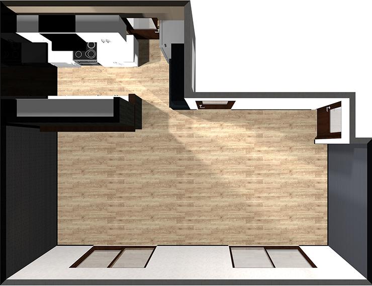 壁付けⅡ型キッチン