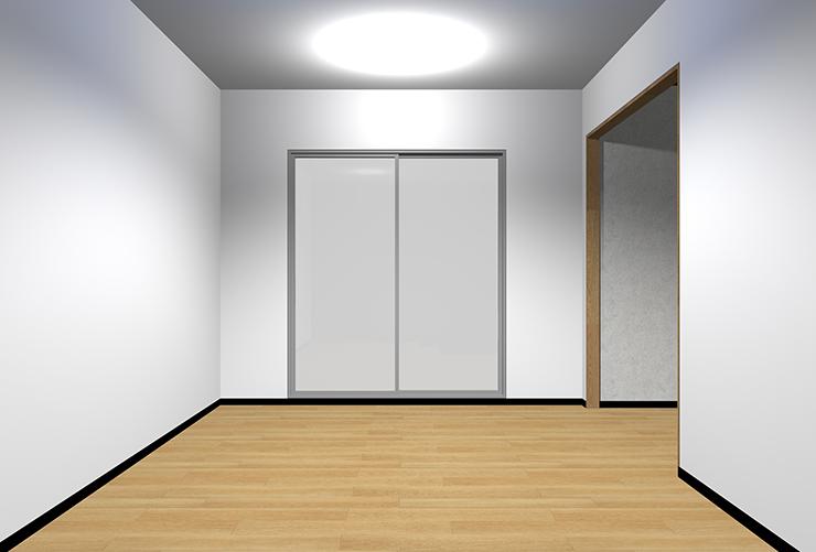 明るい床・明るい壁・明るい天井