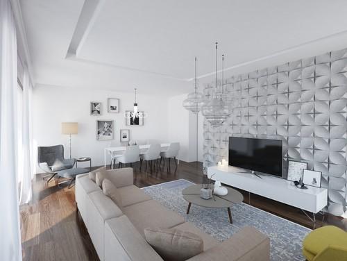 洗練空間のヒントにしたい3種の床の色とグレーインテリア54実例
