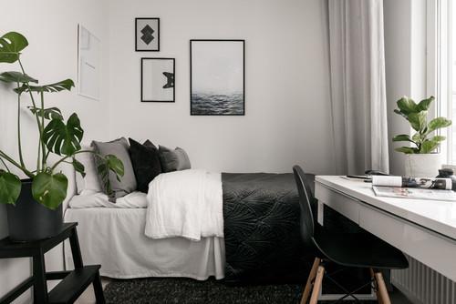 寝室にデスクを置く!10個のレイアウト&ベッドルーム実例48選