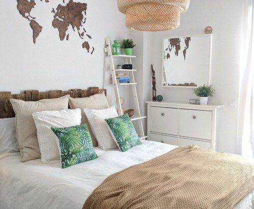【12種類の配色別】簡単に真似できる北欧ベッドルーム厳選52例