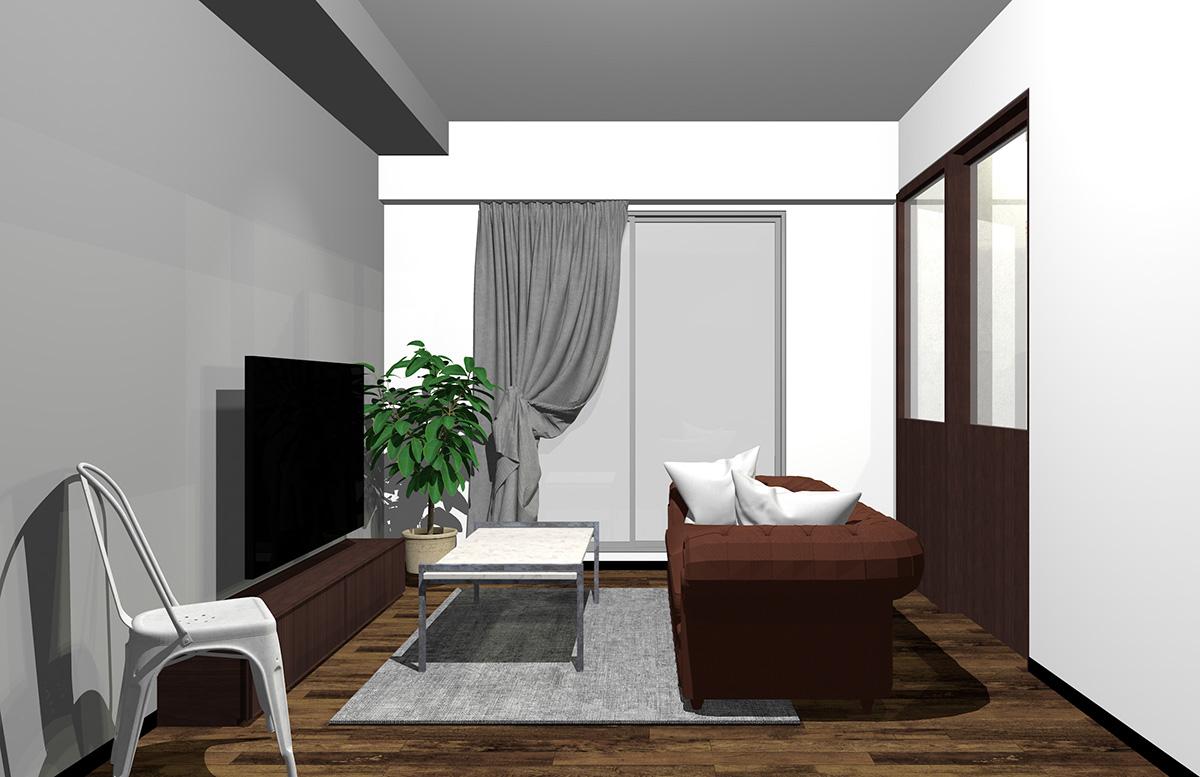 直線的なモダンデザインの長方形コーヒーテーブル