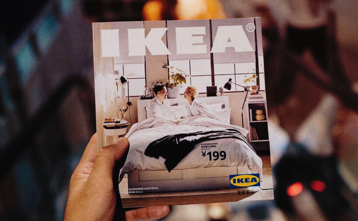 IKEAのカタログ