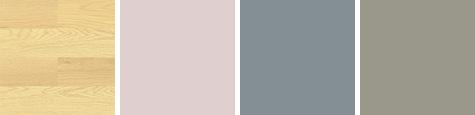 床と壁の色②