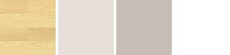 床と壁の色④