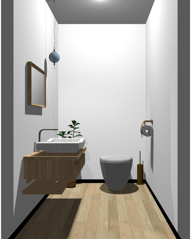 一般的な配色のトイレ
