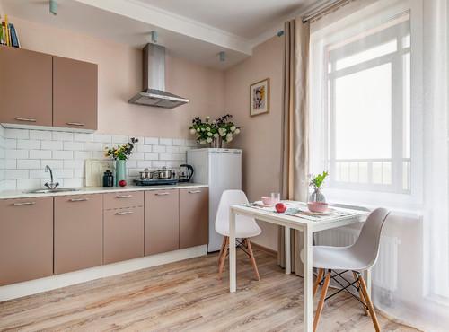 茶色キッチンのインテリア-扉色を茶色にするメリット&実例50選