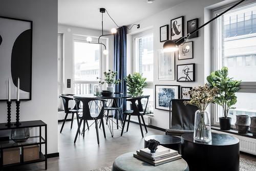グレーの床に茶系家具を置いても大丈夫?6種類の家具色実例52選