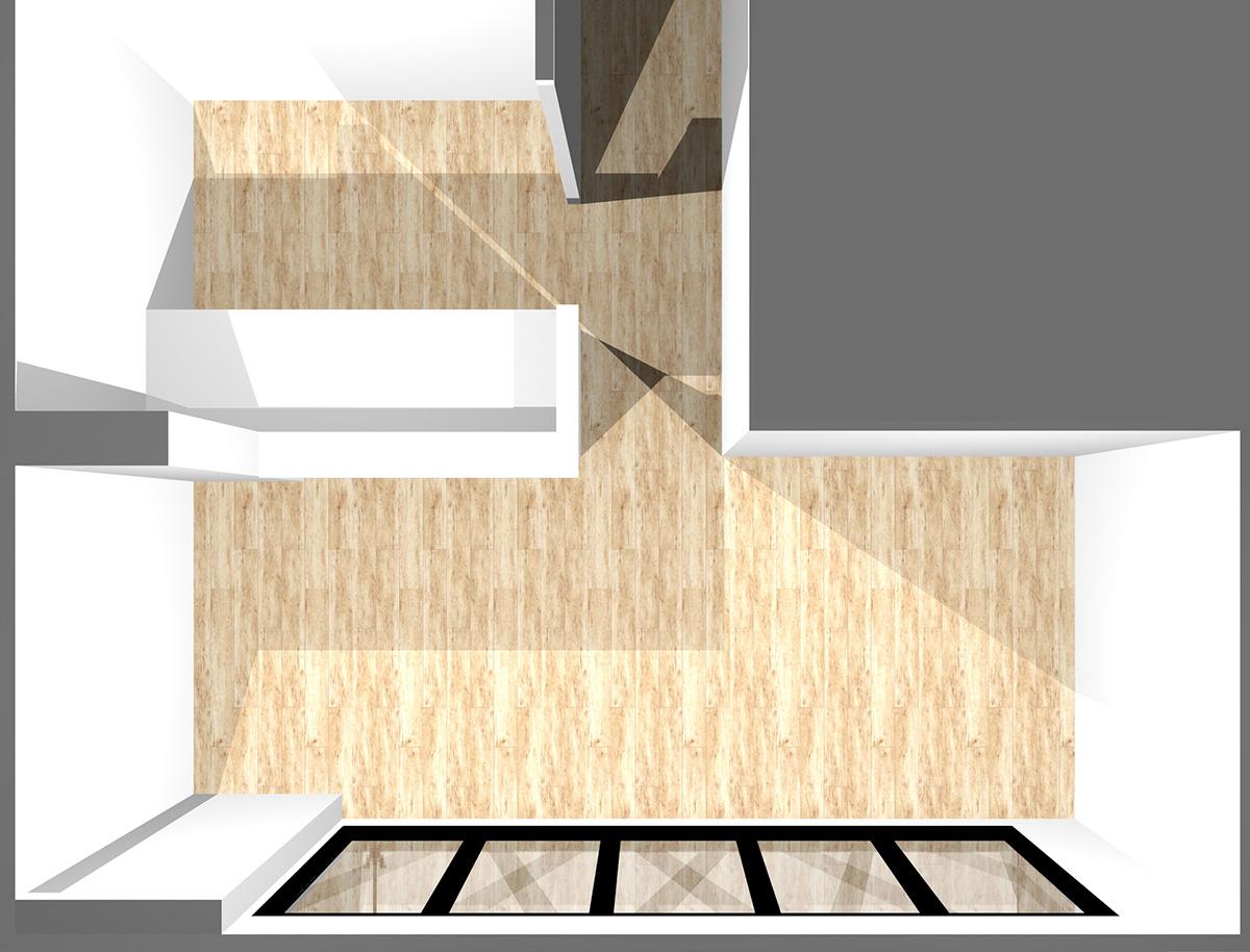 キッチン3.6畳、リビングダイニング9畳の横長リビング
