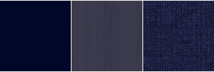 マットな暗い青・暗い青の木目・暗い青のファブリック