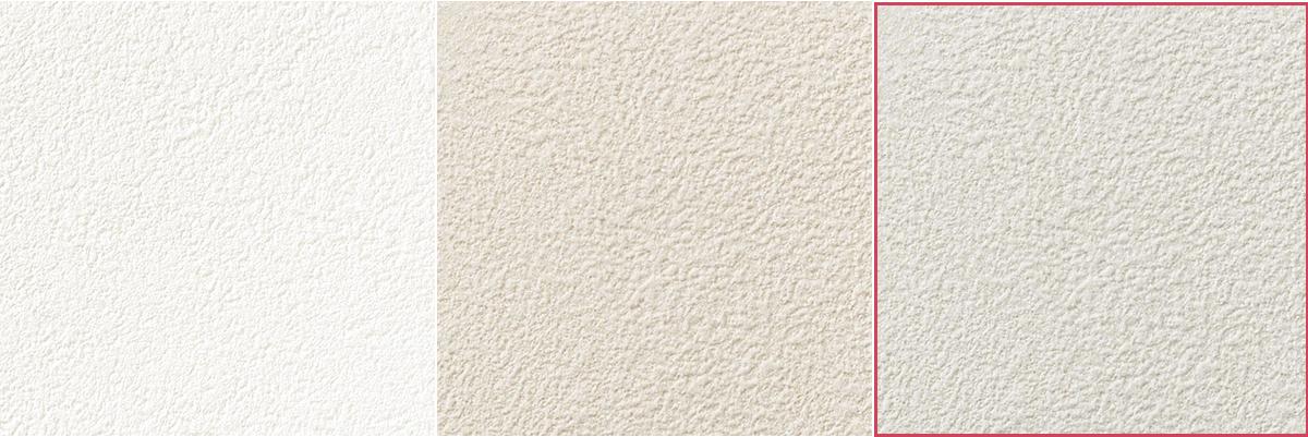 冷たさのあるホワイト(グレーを白っぽくした色)の壁紙
