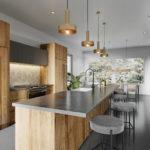 ペニンシュラ型・アイランド型キッチンと照明コーディネート