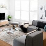 グレーのソファのコーディネート7通りの内装色&インテリア実例45選